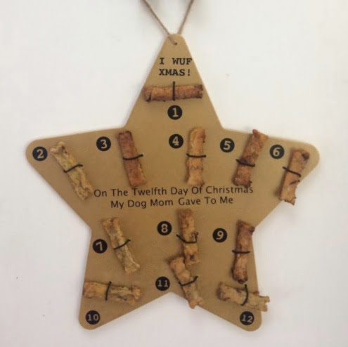 Advent calendar for dogs with dog treats