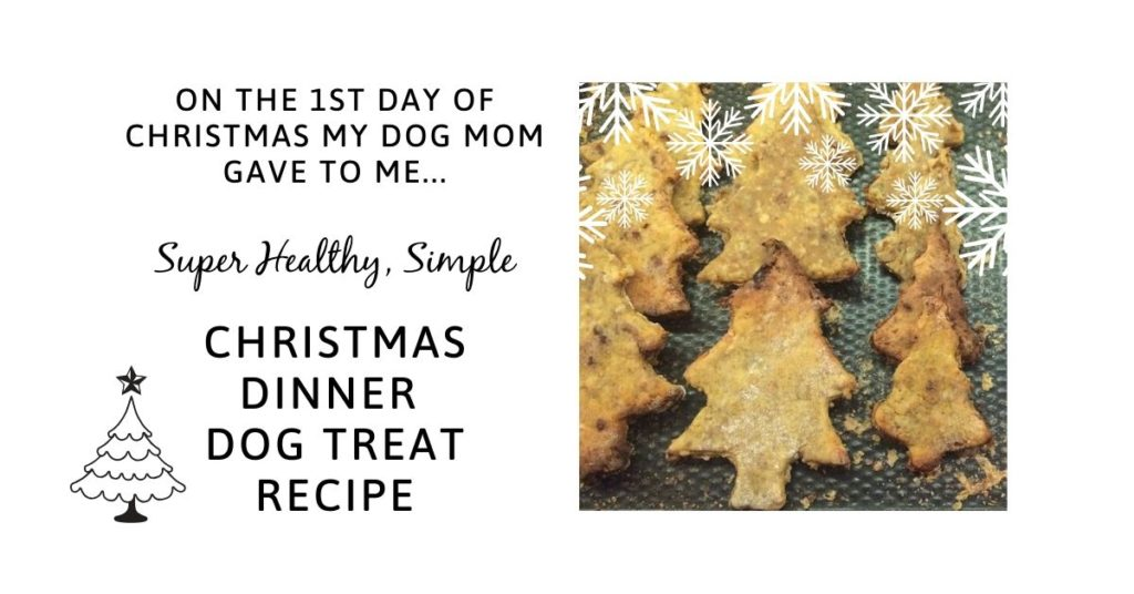 Healthy, simple Christmas dinner recipe for dogs