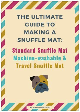 thumb image making a snuffle mat guide