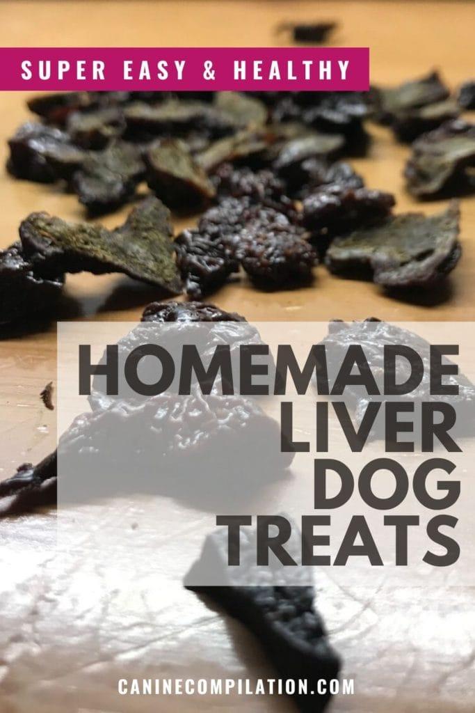 HOMEMADE LIVER DOG TREATS