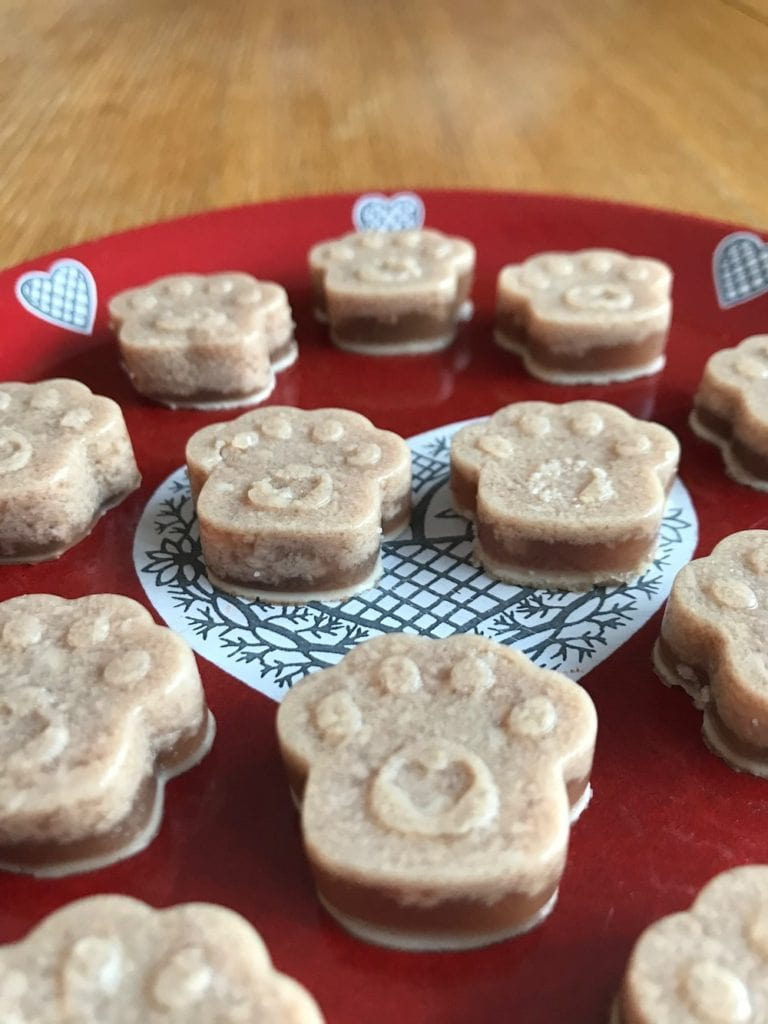 beef dog gummy treats