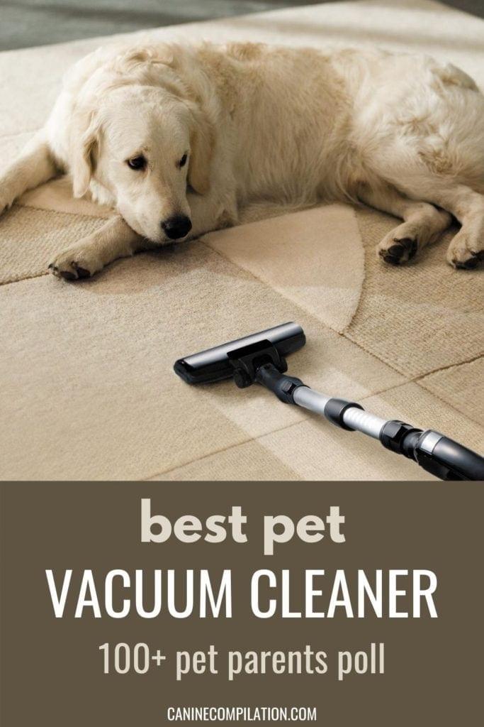 best pet vacuum cleaner - OVER 100 PET PARENT POLL