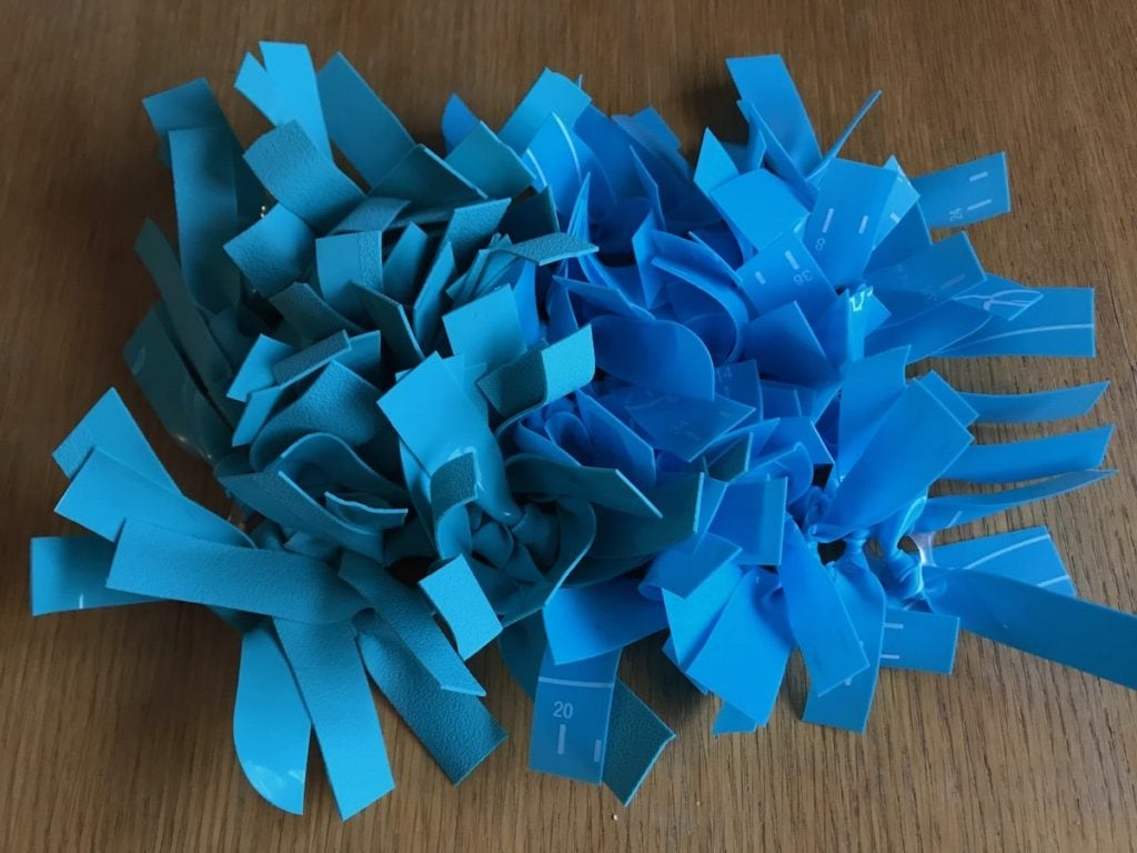 The finished silicone snuffle mat