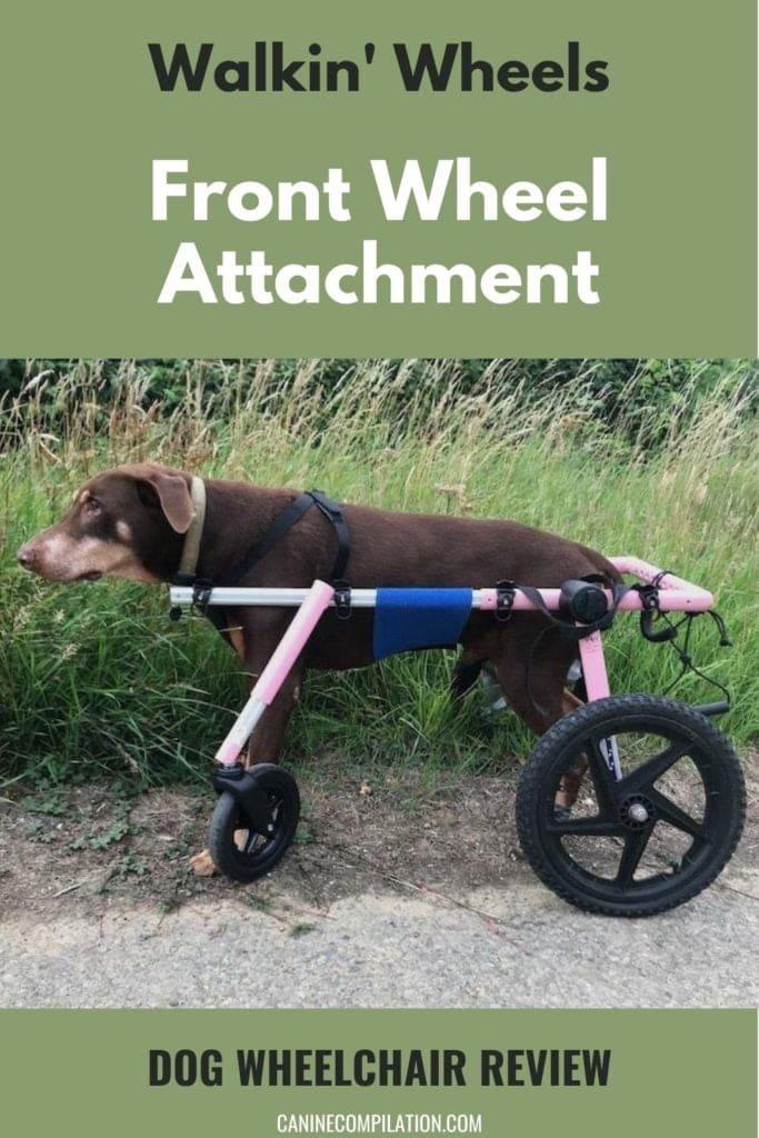 Walkin' wheels front WHEEL attachment REVIEW