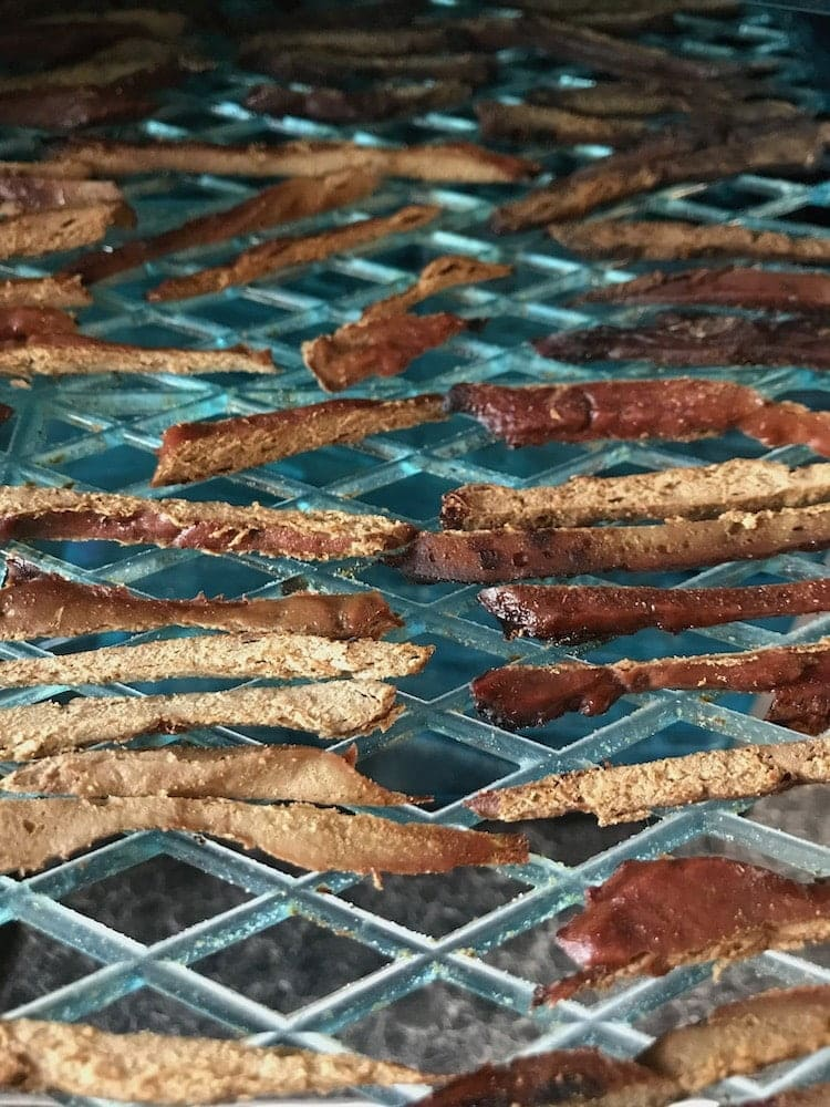 Dehydrated liver sticks to use for decoration in raw birthday cake for dog