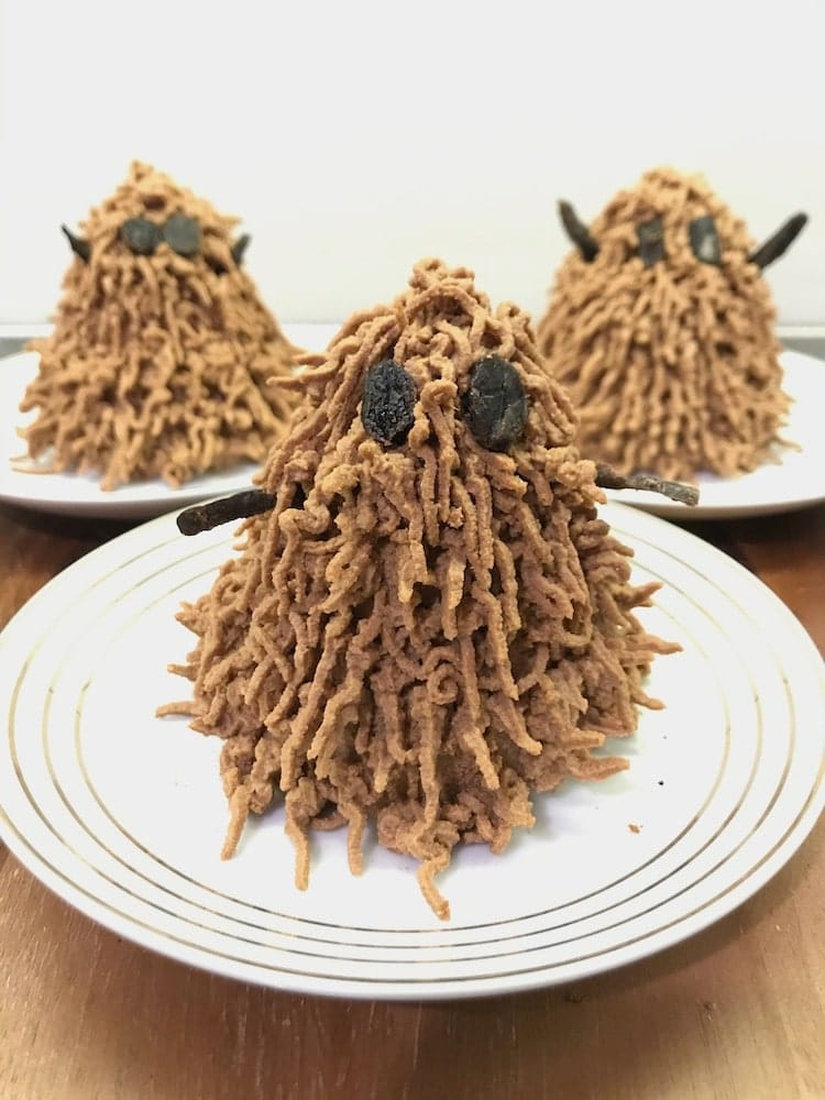 Halloween cakes for dogs - photo tutorial