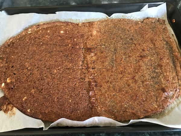 baked quinoa crisp