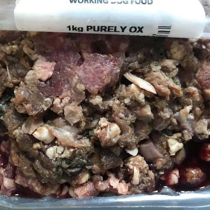 Dog's Butcher raw dog food complete mince